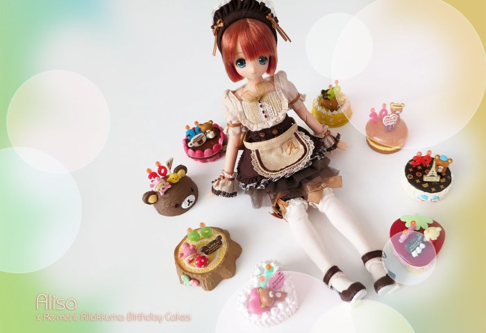 Alisa Rilakkuma Cakes Hair Was Re Colored In Photoshop Flickr