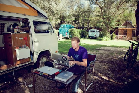 Camping office