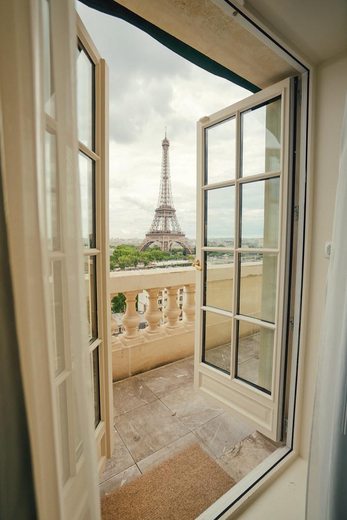 Shangri La Hotel Paris Room View Of Eiffel Tower Flickr