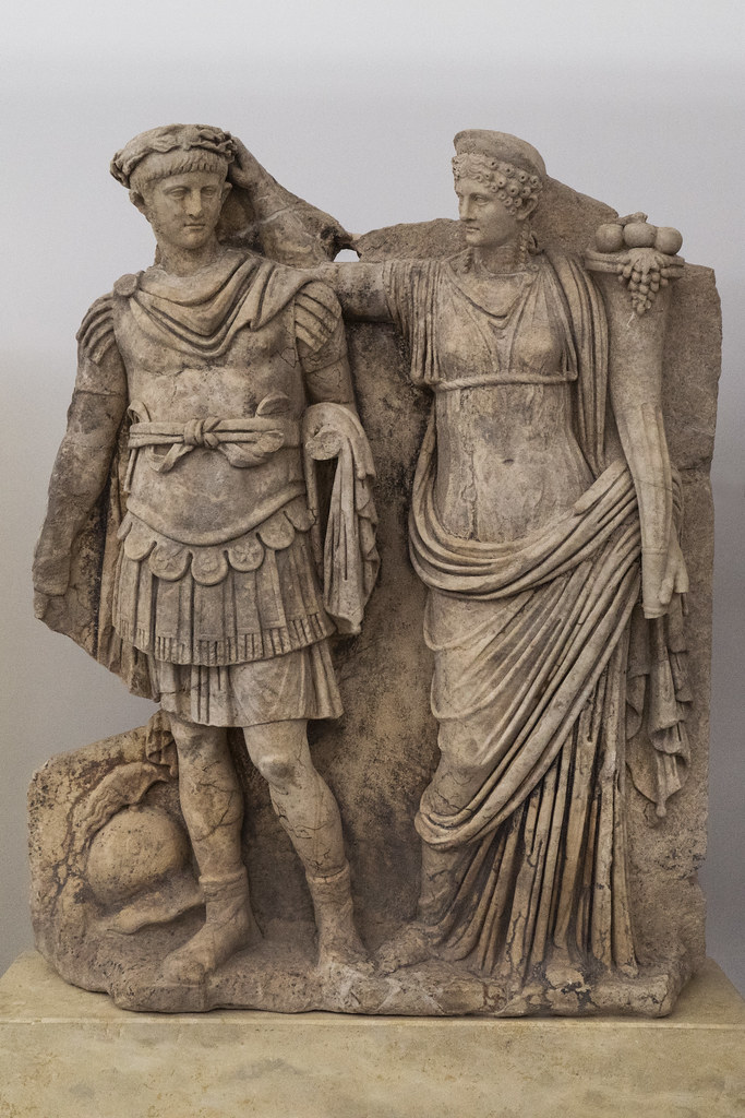 Aphrodisias Sebasteion  XXV  Nero and Agrippina Minor The  Flickr