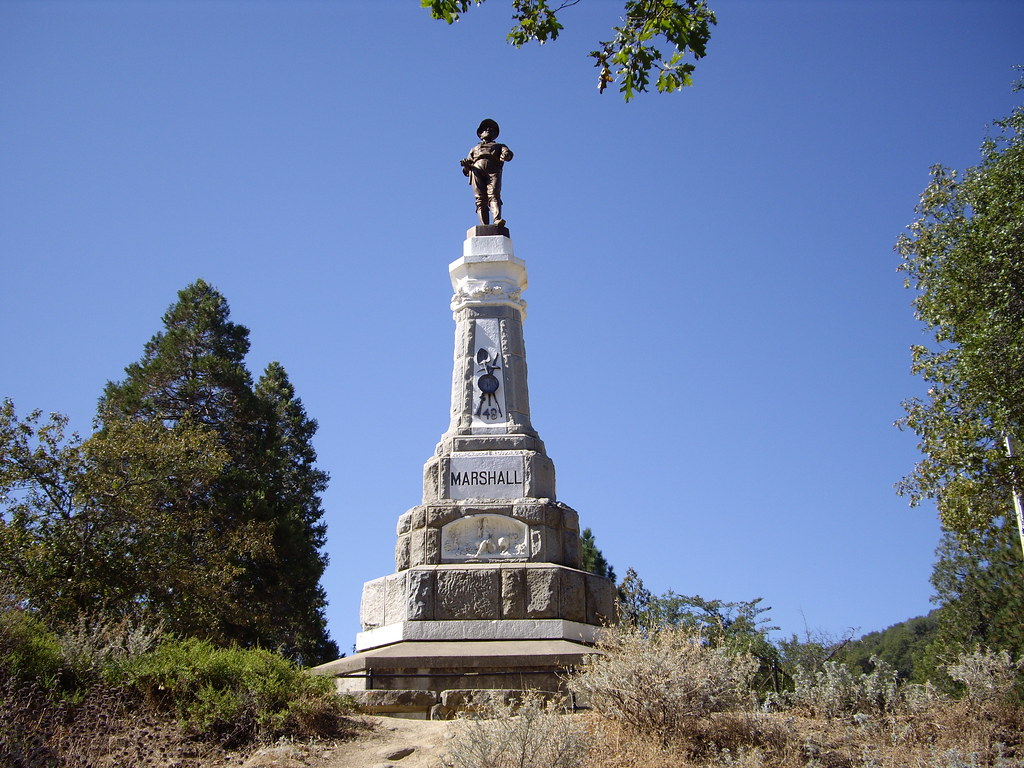 California Coloma Gold Rush Area Marshall Monument