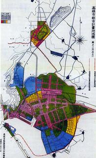 1954年轉繪之日治時期高雄市都市計畫圖   blog.pixnet.net/jonyao1978/post/19134…   J. Yao   Flickr