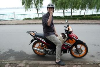 Angeber-Moped