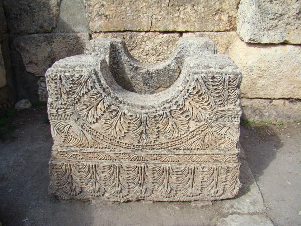 relieve acantos espinosos Monasterio de San Simeon Siria 53