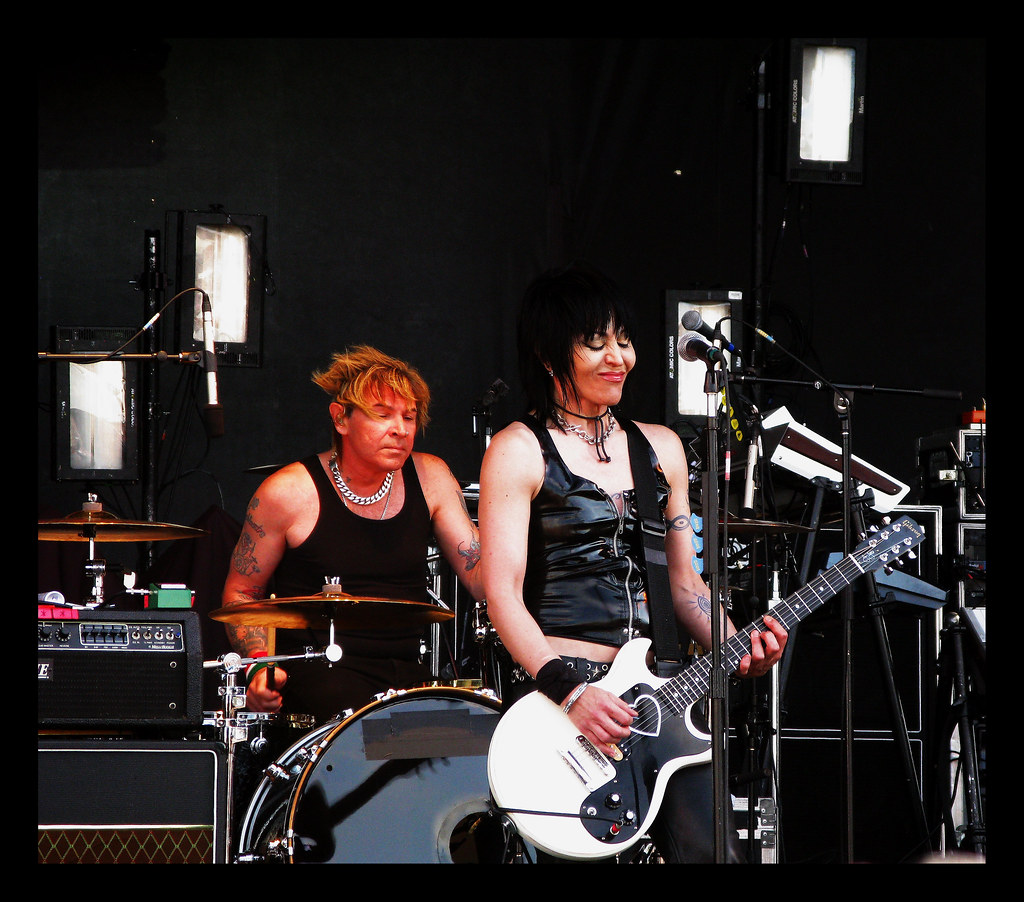 Stampede Joanjet2001a Joan Jett And The Blackhearts