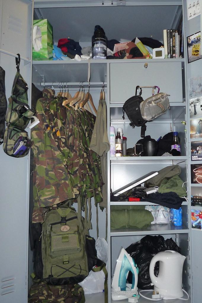 Locker No Locker Layout Here All Military Amp Civvie Kit