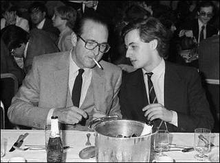 Chirac Sarkozy 24 mars 1981