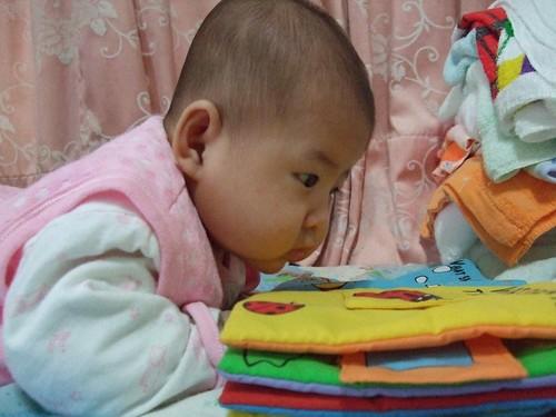 2067 | 翻翻身就可以看書哦 | littlebadgers | Flickr