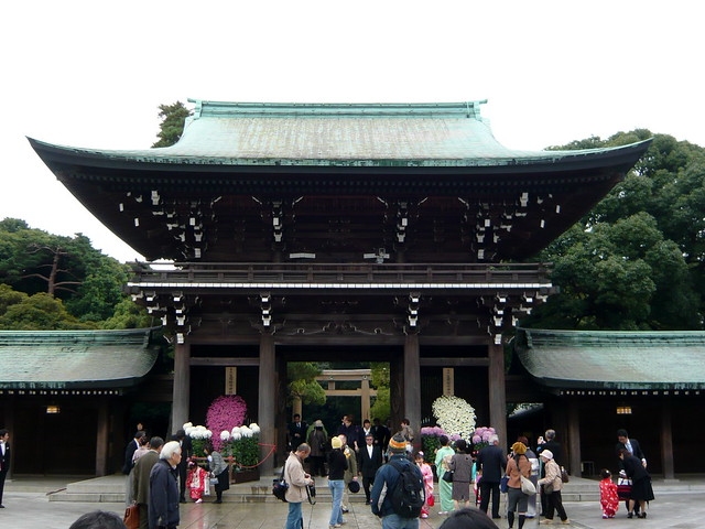Meiji Shrine gate