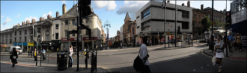 Headrow, looking down Briggate