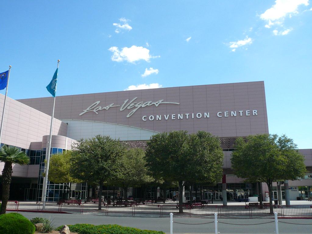 Las Vegas Convention Center Entrance  Michael Gray  Flickr