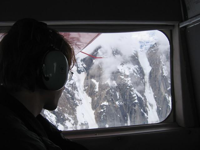 Flying next to Denali