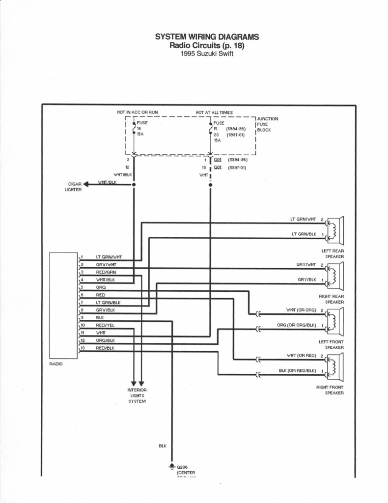 [DIAGRAM] Wiring Diagram For 94 Geo Prizm Radio FULL