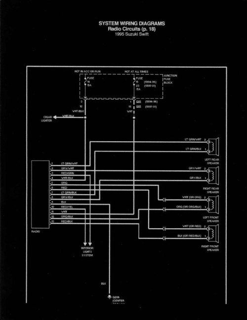 small resolution of geo radio wiring wiring diagram for you1995 geo metro radio wiring ricop flickr geo metro radio