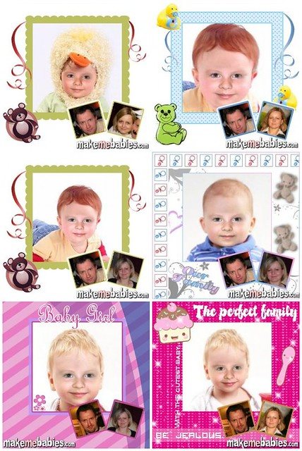 baby face prediction created