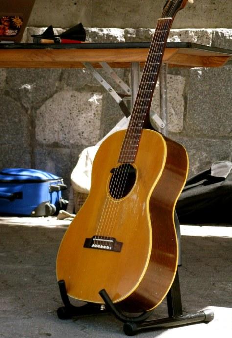 Papa Josh's guitar