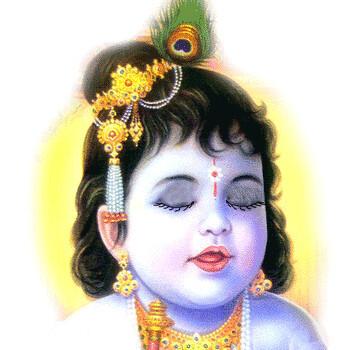 chinni krishna cute lord