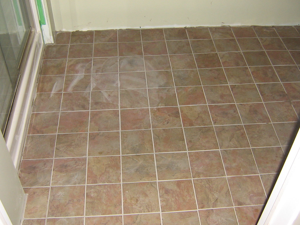 basement bathroom 6x6 floor tile