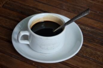 Erstmal einen Cafe