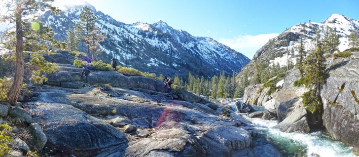 Backpacking in the Trinity Alps