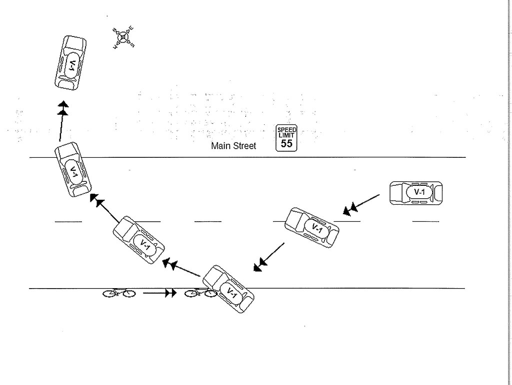 hight resolution of accident report diagram