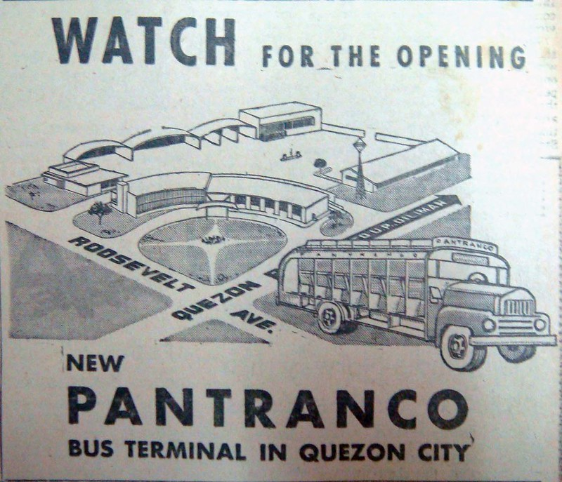 1960 Pantranco terminal ad