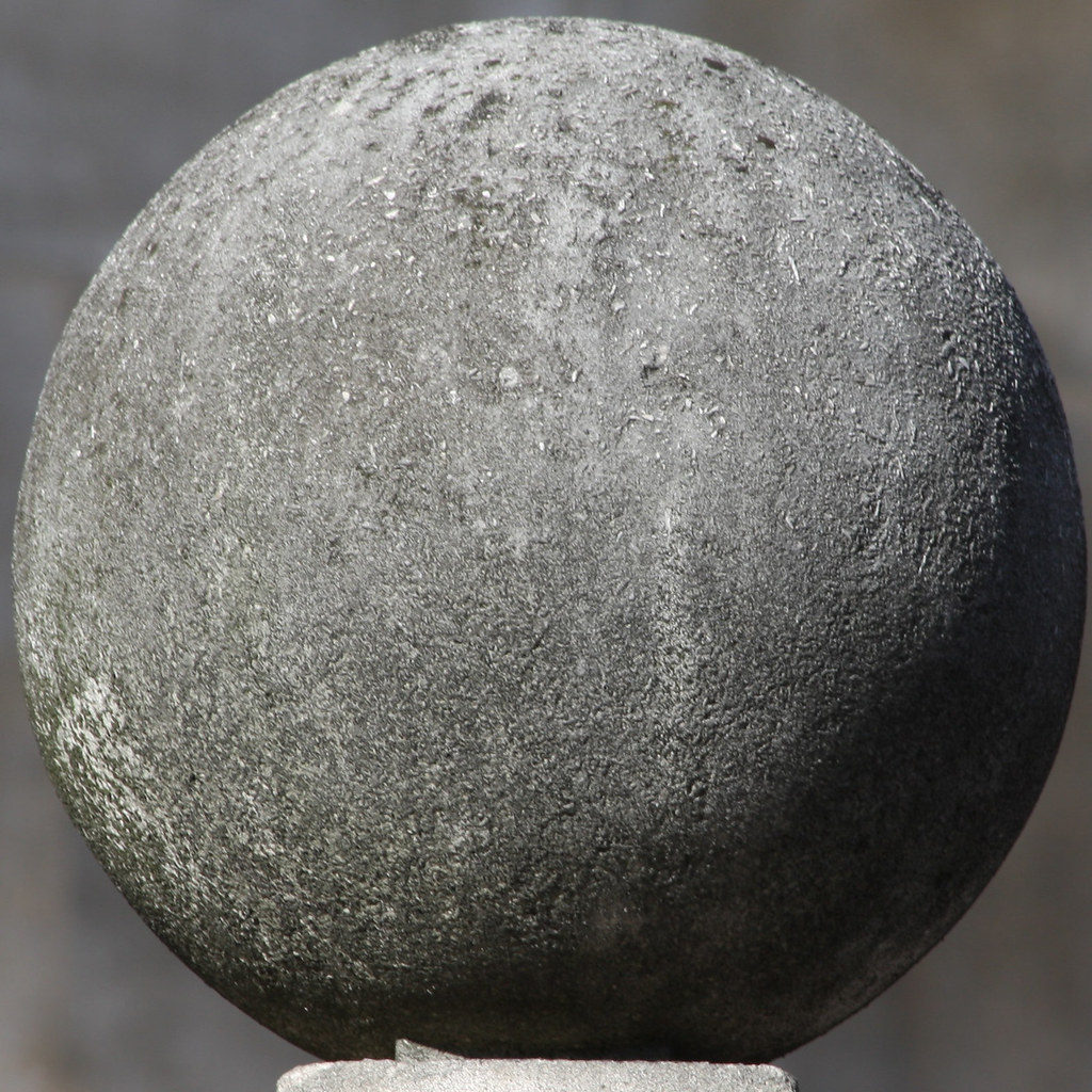 concrete sphere london england