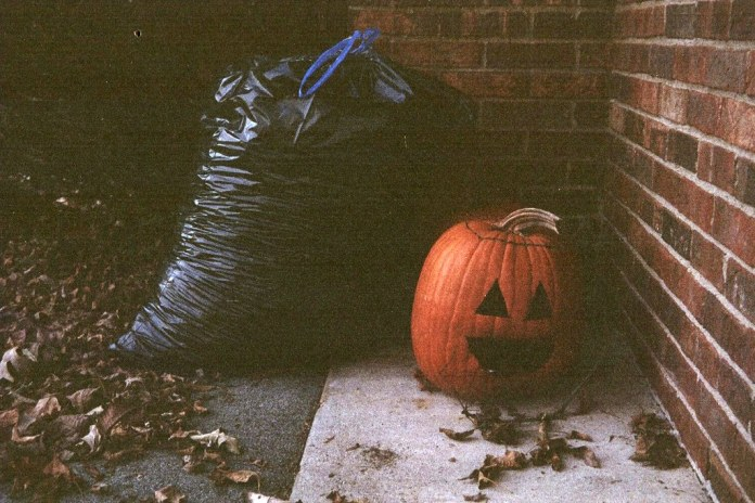 Pumpkin trash