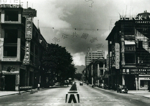 1948 Nathan Road. Kowloon = 尖沙咀彌敦道   Looking north from Nath…   Flickr