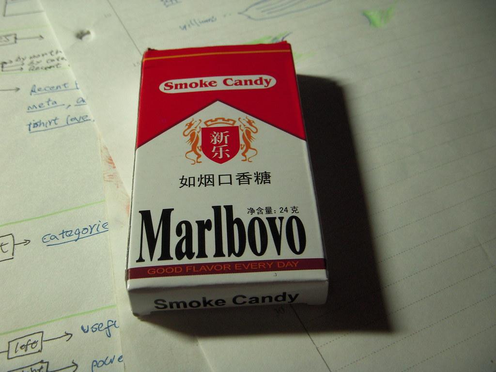 Fake Marlboro | Fake Marlboro. taken back by my sister. it's… | Flickr