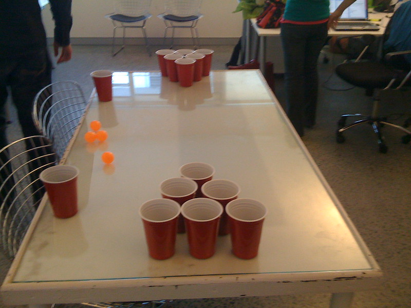 Beer Pong at 3eep