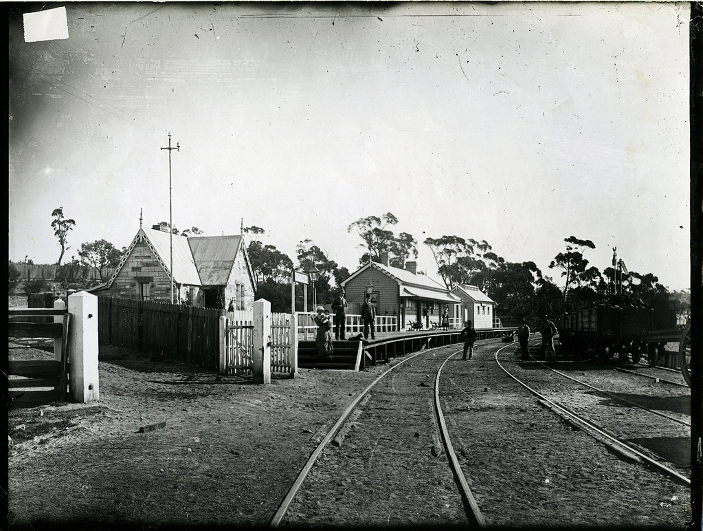 Katoomba Railway Station 1882 Notes This Is The Earlier