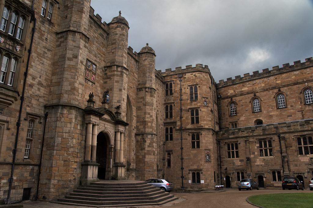 Durham Castle Steps