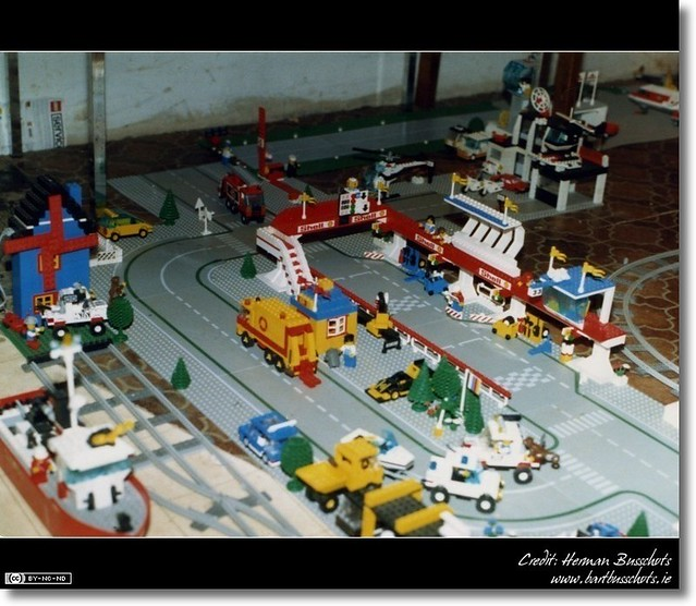Lego City Race Track A Shot Of My First Lego City