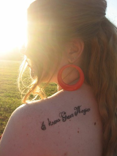 Persephone Pomegranate Tattoo
