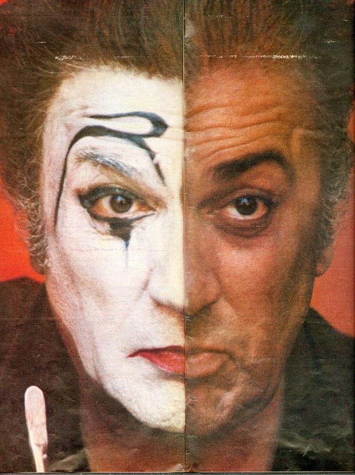 Federico Fellini, half clown   From Life Magazine, 1971   Flickr