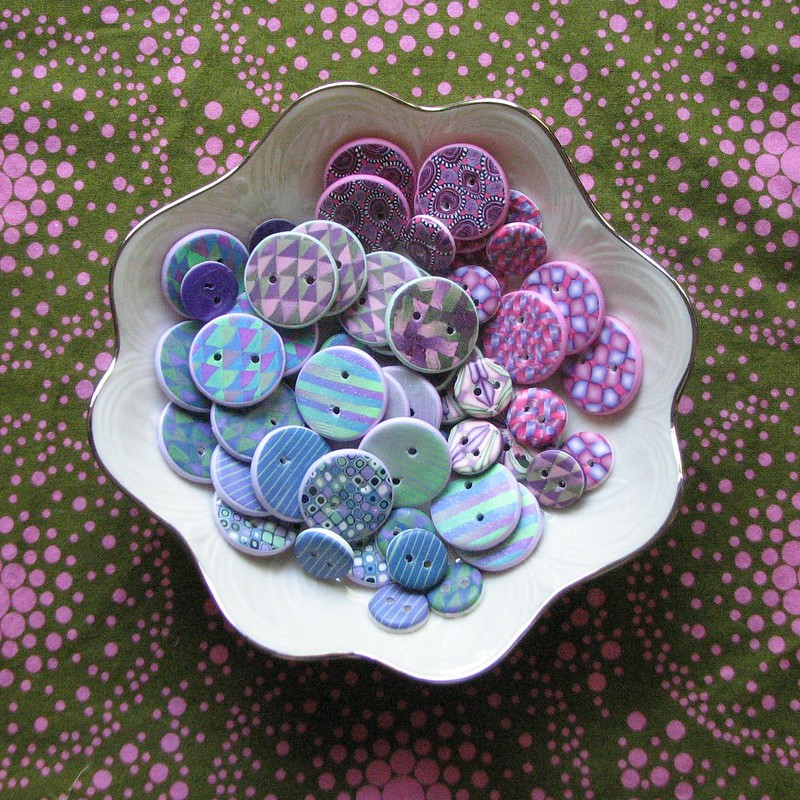 Buttons in a bowl