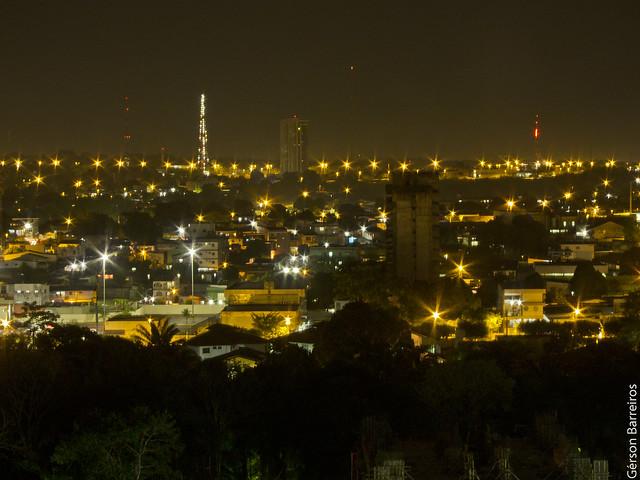 Manaus at night!