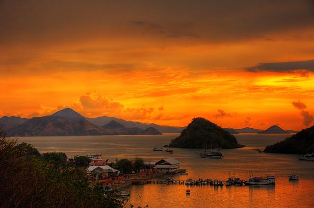 Sunset at Harbor