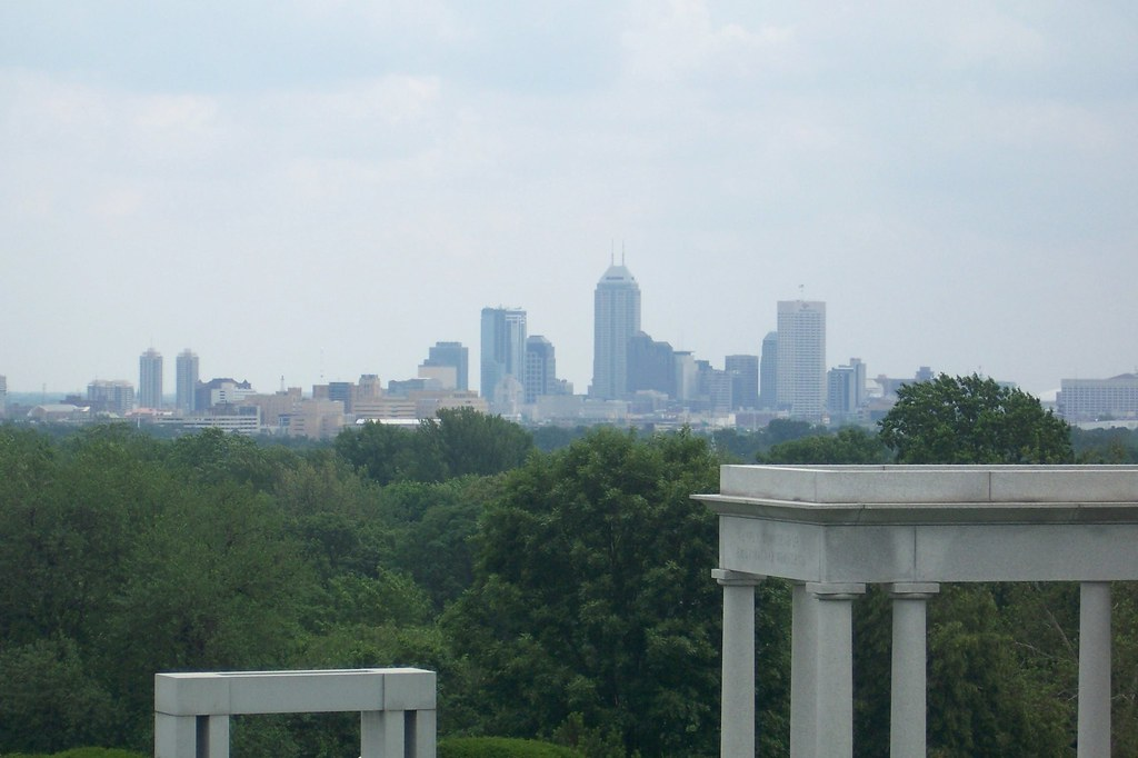 View from the Riley gravesite