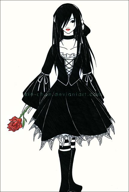 gothic anime i like