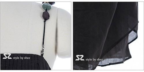 11c4ce61ae1g215 | 現貨!!(送腰帶)(百折吊帶連衣裙)。尺寸:胸圍85cm、腰圍80cm、裙長85cm… | Flickr