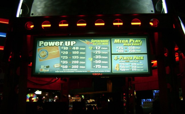 Dave And Busters Price Chart I Should Really Put