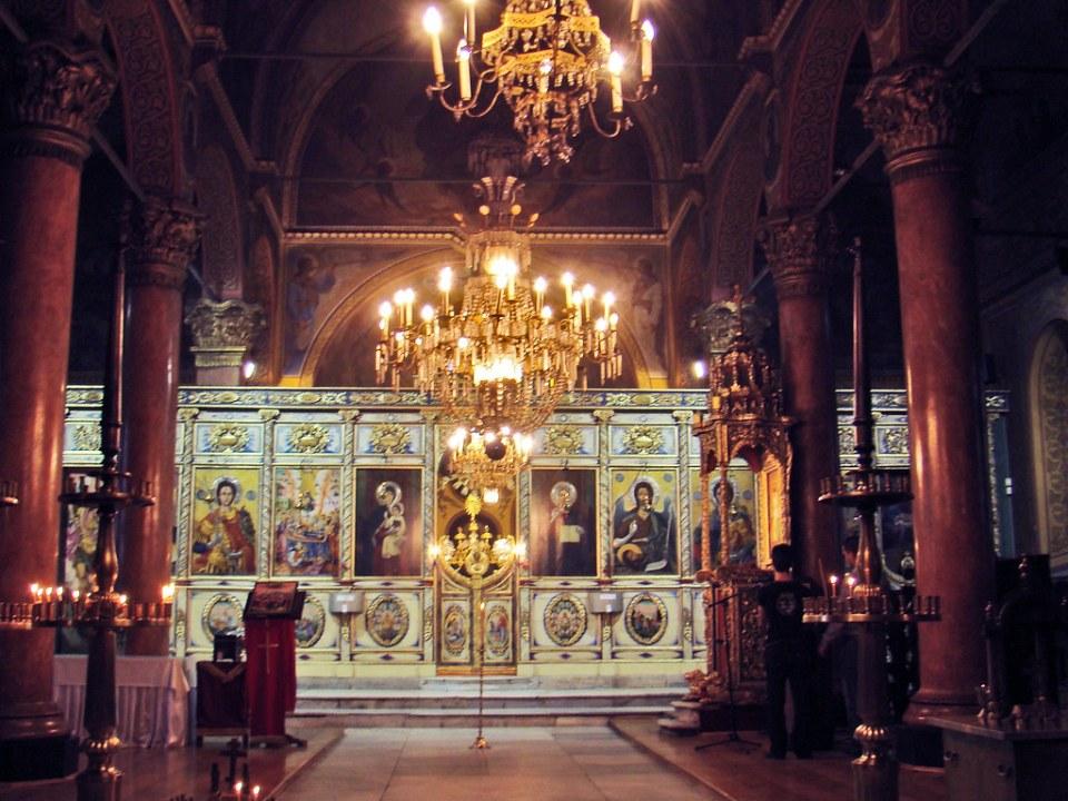 Plovdiv iconostasio interior Iglesia de la Santa Madre de Dios Bulgaria 30