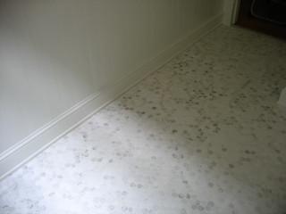 bathroom marble hexagon tiles