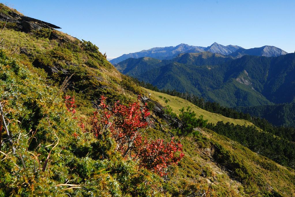 合歡北峰稜線   自合歡北峰稜線登頂山徑上, 望向南湖中央尖.   Surform Chang   Flickr
