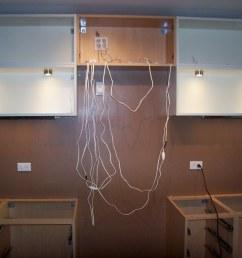 under cabinet wiring by evan courtney [ 1024 x 768 Pixel ]