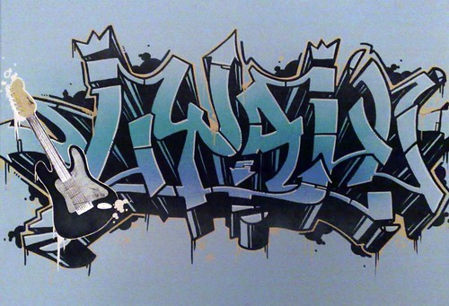 Going To Work On Graffiti