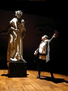 Sganarelle et la statue du commandeur