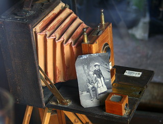 Tintype Photography | This was taken at 1880's town in South… | Flickr